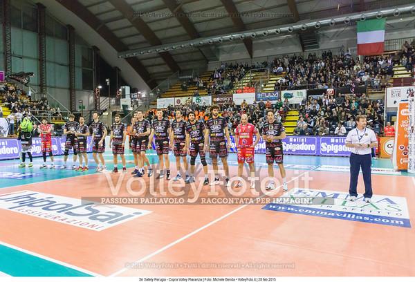 Sir Safety Perugia - Copra Volley Piacenza