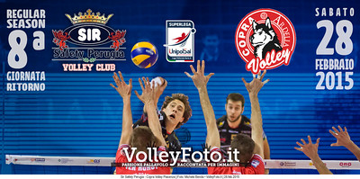 Sir Safety Perugia, Copra Volley Piacenza