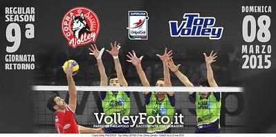 Copra Volley Piacenza - Top Volley Latina | 9ª giornata ritorno