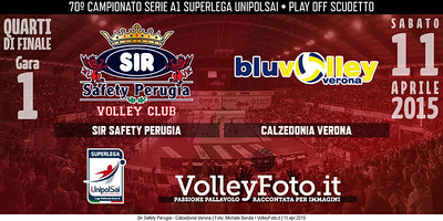 Sir Safety Perugia - Calzedonia Verona