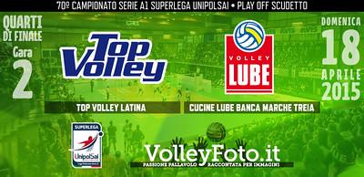 Top Volley Latina - Lube Banca Marche Treia