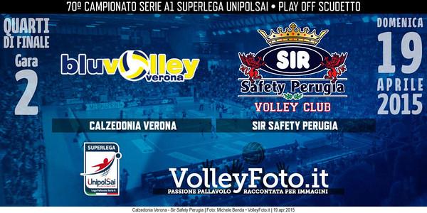 Calzedonia Verona - Sir Safety Perugia
