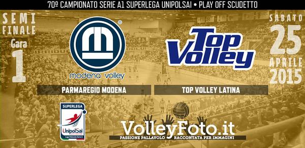 Parmareggio Modena - Top Volley Latina