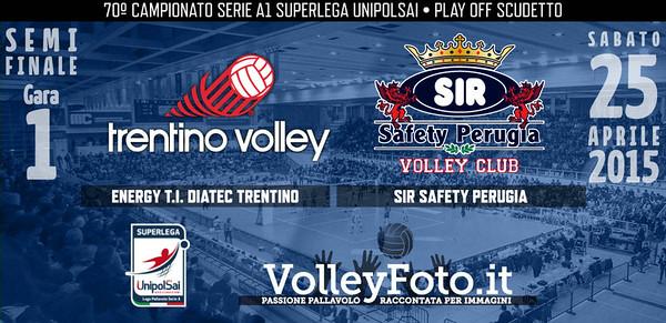Energy T.I. Diatec Trentino - Sir Safety Perugia