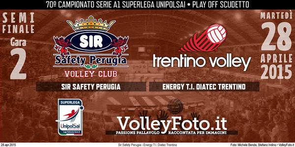 Sir Safety Perugia - Energy T.I. Diatec Trentino
