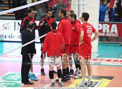 Copra Volley Piacenza - Cucine Lube Banca Marche Treia