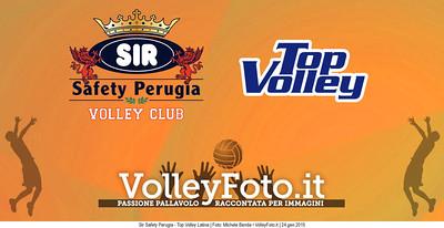 Sir Safety Perugia - Top Volley Latina