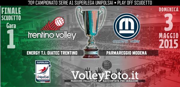 Energy T.I. Diatec Trentino - Parmareggio Modena - Finale1