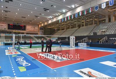 Diatec Trentino - Sir Safety Conad perugia 14ª giornata Campionato Italiano di pallavolo maschile Serie A1 SuperLega UnipolSai 2015/16.  PalaTrento, 23.01.2016 FOTO: Michele Benda © 2016 Volleyfoto.it, all rights reserved [id:20160123.MB2_4960]