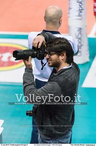 Sir Safety Conad Perugia - CMC Romagna 15ª giornata Campionato Italiano di pallavolo maschile Serie A1 SuperLega UnipolSai 2015/16.  PalaEvangelisti Perugia, 31.01.2016 FOTO: Michele Benda © 2016 Volleyfoto.it, all rights reserved [id:20160131.MB2_6012]