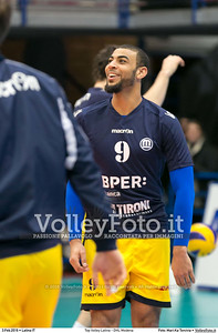 Top Volley Latina - DHL Modena 16ª Giornata ritorno 70º Campionato Serie A1 SuperLega UnipolSai 2014/15.  PalaBianchini Latina, 03.02.2016 FOTO: Mari.Ka Torcivia © 2016 Volleyfoto.it, all rights reserved [id:20160203.MariKa_65A6519]