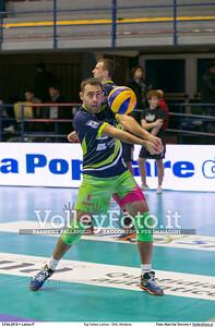 Top Volley Latina - DHL Modena 16ª Giornata ritorno 70º Campionato Serie A1 SuperLega UnipolSai 2014/15.  PalaBianchini Latina, 03.02.2016 FOTO: Mari.Ka Torcivia © 2016 Volleyfoto.it, all rights reserved [id:20160203.MariKa_65A6539]