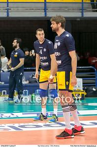 Top Volley Latina - DHL Modena 16ª Giornata ritorno 70º Campionato Serie A1 SuperLega UnipolSai 2014/15.  PalaBianchini Latina, 03.02.2016 FOTO: Mari.Ka Torcivia © 2016 Volleyfoto.it, all rights reserved [id:20160203.MariKa_65A6515]