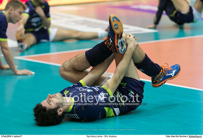 Top Volley Latina - DHL Modena 16ª Giornata ritorno 70º Campionato Serie A1 SuperLega UnipolSai 2014/15.  PalaBianchini Latina, 03.02.2016 FOTO: Mari.Ka Torcivia © 2016 Volleyfoto.it, all rights reserved [id:20160203.MariKa_65A6526]