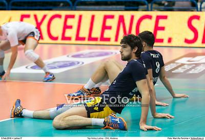 Top Volley Latina - DHL Modena 16ª Giornata ritorno 70º Campionato Serie A1 SuperLega UnipolSai 2014/15.  PalaBianchini Latina, 03.02.2016 FOTO: Mari.Ka Torcivia © 2016 Volleyfoto.it, all rights reserved [id:20160203.MariKa_65A6528]