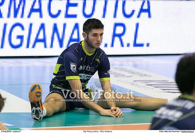 Top Volley Latina - DHL Modena 16ª Giornata ritorno 70º Campionato Serie A1 SuperLega UnipolSai 2014/15.  PalaBianchini Latina, 03.02.2016 FOTO: Mari.Ka Torcivia © 2016 Volleyfoto.it, all rights reserved [id:20160203.MariKa_65A6531]