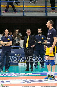 Top Volley Latina - DHL Modena 16ª Giornata ritorno 70º Campionato Serie A1 SuperLega UnipolSai 2014/15.  PalaBianchini Latina, 03.02.2016 FOTO: Mari.Ka Torcivia © 2016 Volleyfoto.it, all rights reserved [id:20160203.MariKa_65A6518]