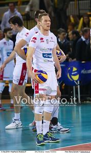 DHL Modena - Diatec Trentino 17ª giornata Campionato Italiano di pallavolo maschile Serie A1 SuperLega UnipolSai 2015/16.  PalaPanini Modena, 11.02.2016 FOTO: Elena Zanutto © 2016 Volleyfoto.it, all rights reserved [id:20160211.4B2A2856]
