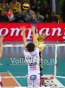 DHL Modena - Diatec Trentino 17ª giornata Campionato Italiano di pallavolo maschile Serie A1 SuperLega UnipolSai 2015/16.  PalaPanini Modena, 11.02.2016 FOTO: Elena Zanutto © 2016 Volleyfoto.it, all rights reserved [id:20160211.4B2A2982]