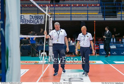 Top Volley Latina - CMC Romagna 18ª Giornata ritorno 71º Campionato Serie A1 SuperLega UnipolSai 2015/16.  PalaBianchini Latina, 16.02.2016 FOTO: Mari.ka Torcivia © 2016 Volleyfoto.it, all rights reserved [id:20160216._65A4656]
