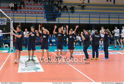 Top Volley Latina - CMC Romagna 18ª Giornata ritorno 71º Campionato Serie A1 SuperLega UnipolSai 2015/16.  PalaBianchini Latina, 16.02.2016 FOTO: Mari.ka Torcivia © 2016 Volleyfoto.it, all rights reserved [id:20160216._65A4655]