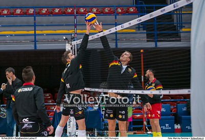 Top Volley Latina - CMC Romagna 18ª Giornata ritorno 71º Campionato Serie A1 SuperLega UnipolSai 2015/16.  PalaBianchini Latina, 16.02.2016 FOTO: Mari.ka Torcivia © 2016 Volleyfoto.it, all rights reserved [id:20160216._65A4638]