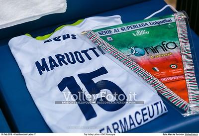 Top Volley Latina - CMC Romagna 18ª Giornata ritorno 71º Campionato Serie A1 SuperLega UnipolSai 2015/16.  PalaBianchini Latina, 16.02.2016 FOTO: Mari.ka Torcivia © 2016 Volleyfoto.it, all rights reserved [id:20160216._65A4632]