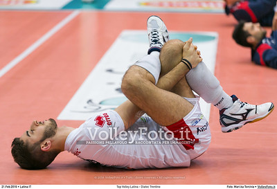 Top Volley Latina - Diatec Trentino 19ª Giornata ritorno 70º Campionato Serie A1 SuperLega UnipolSai 2014/15.  PalaBianchini Latina, 21.02.2016 FOTO: Mari.ka Torcivia © 2016 Volleyfoto.it, all rights reserved [id:20160221.MariKa_65A7308]