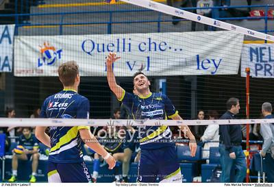 Top Volley Latina - Diatec Trentino 19ª Giornata ritorno 70º Campionato Serie A1 SuperLega UnipolSai 2014/15.  PalaBianchini Latina, 21.02.2016 FOTO: Mari.ka Torcivia © 2016 Volleyfoto.it, all rights reserved [id:20160221.MariKa_65A7287]