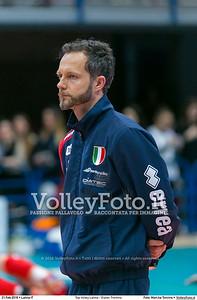 Top Volley Latina - Diatec Trentino 19ª Giornata ritorno 70º Campionato Serie A1 SuperLega UnipolSai 2014/15.  PalaBianchini Latina, 21.02.2016 FOTO: Mari.ka Torcivia © 2016 Volleyfoto.it, all rights reserved [id:20160221.MariKa_65A7304]