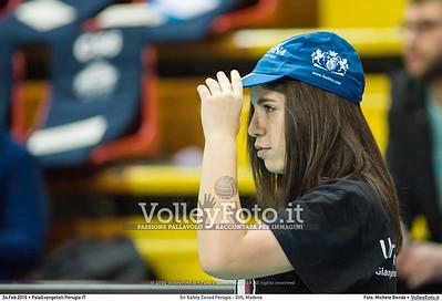 Sir Safety Conad Perugia - DHL Modena 20ª giornata Campionato Italiano di pallavolo maschile Serie A1 SuperLega UnipolSai 2015/16.  PalaEvangelisti Perugia, 24.02.2016 FOTO: Michele Benda © 2016 Volleyfoto.it, all rights reserved [id:20160224._MBK6763]