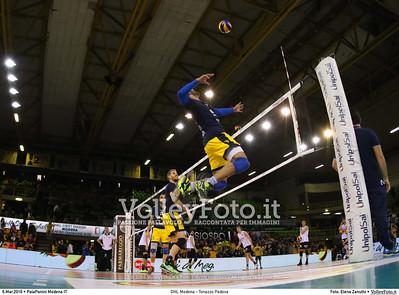 DHL Modena - Tonazzo Padova 22ª giornata Campionato Italiano di pallavolo maschile Serie A1 SuperLega UnipolSai 2015/16.  PalaPanini Modena, 06.03.2016 FOTO: Elena Zanutto © 2016 Volleyfoto.it, all rights reserved [id:20160306.9C3A9585]