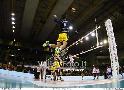 DHL Modena - Tonazzo Padova 22ª giornata Campionato Italiano di pallavolo maschile Serie A1 SuperLega UnipolSai 2015/16.  PalaPanini Modena, 06.03.2016 FOTO: Elena Zanutto © 2016 Volleyfoto.it, all rights reserved [id:20160306.9C3A9588]