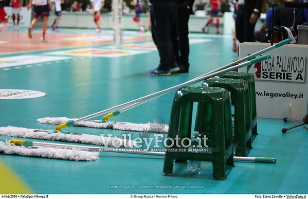 Gi Group Monza - Revivre Milano 16ª giornata Campionato Italiano di pallavolo maschile Serie A1 SuperLega UnipolSai 2015/16.  PalaSport Monza, 04.02.2016 FOTO: Elena Zanutto © 2016 Volleyfoto.it, all rights reserved [id:20160204.4B2A2336]