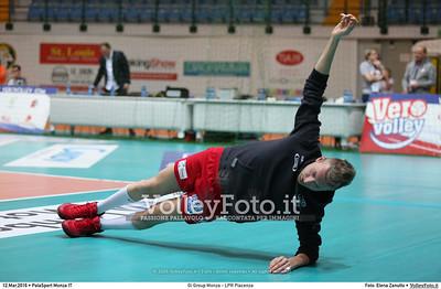 Gi Group Monza - LPR Piacenza 1ª giornata Pool Play Off 5 posto Campionato Italiano di pallavolo maschile Serie A1 SuperLega UnipolSai 2015/16.  PalaSport Monza, 12.03.2016 FOTO: Elena Zanutto © 2016 Volleyfoto.it, all rights reserved [id:20160312.4B2A2563]