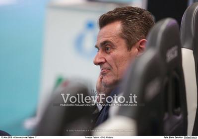 Tonazzo Padova - DHL Modena Gara 2 Quarti di Finale Play off Campionato Italiano di pallavolo maschile Serie A1 SuperLega UnipolSai 2015/16.  Kioene Arena Paadova, 13.03.2016 FOTO: Elena Zanutto © 2016 Volleyfoto.it, all rights reserved [id:20160313.4B2A3834]