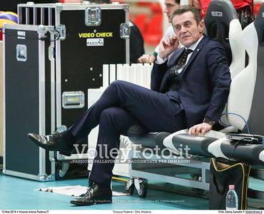 Tonazzo Padova - DHL Modena Gara 2 Quarti di Finale Play off Campionato Italiano di pallavolo maschile Serie A1 SuperLega UnipolSai 2015/16.  Kioene Arena Paadova, 13.03.2016 FOTO: Elena Zanutto © 2016 Volleyfoto.it, all rights reserved [id:20160313.4B2A3778]