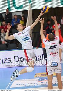 Diatec Trentino - Exprivia Molfetta Gara 3 Quarti di Finale Play off Campionato Italiano di pallavolo maschile Serie A1 SuperLega UnipolSai 2015/16. PalaTrento, 19.03.2016 FOTO: Elena Zanutto © 2016 Volleyfoto.it, all rights reserved [id:20160319.4B2A6389]