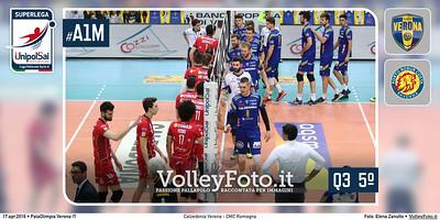 Calzedonia Verona - CMC Romagna | Q3 PlayOff 5ºPosto SuperLega