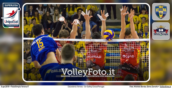 Calzedonia Verona - Sir Safety Conad Perugia | Q5 PlayOff SuperLega