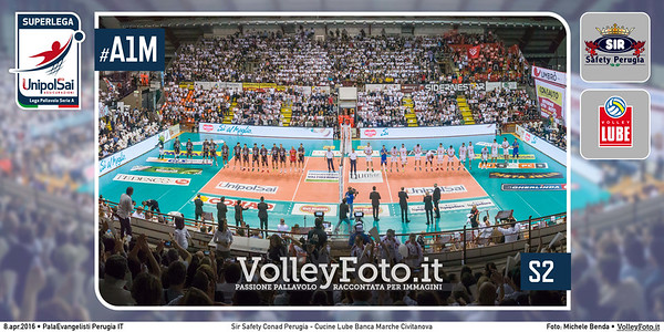 Sir Safety Conad Perugia - Cucine Lube Banca Marche Civitanova | S2 PlayOff SuperLega