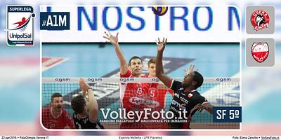 Exprivia Molfetta, LPR Piacenza, Semifinale PlayOff 5º Posto