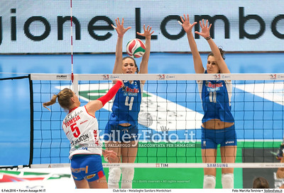 Club Italia - Metalleghe Sanitars Montichiari 18ª giornata Campionato Serie A1 Femminile 2015-16.  Mediolanum Forum Milano, 06.02.2016 FOTO: Mari.Ka Torcivia © 2016 Volleyfoto.it, all rights reserved [id:20160206.MariKa_65A8266]
