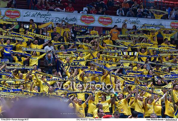 DHL Modena - Diatec Trentino Finale Del Monte® Coppa Italia 2015/16.  Mediolanum Forum Milano, 07.02.2016 FOTO: Michele Benda © 2016 Volleyfoto.it, all rights reserved [id:20160207.MB2_8926]