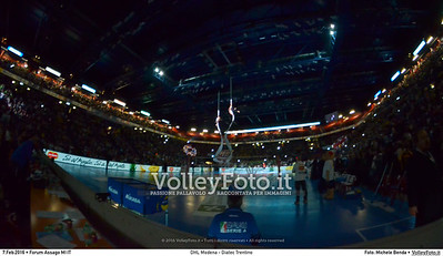 DHL Modena - Diatec Trentino Finale Del Monte® Coppa Italia 2015/16.  Mediolanum Forum Milano, 07.02.2016 FOTO: Michele Benda © 2016 Volleyfoto.it, all rights reserved [id:20160207.MBQ_4714]