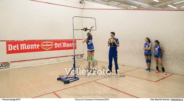 Gioca con il Campione #Volleyland 2016 Mediolanum Forum Milano, 06-07.02.2016 FOTO: Mari.Ka Torcivia © Volleyfoto.it, all rights reserved [id:.MariKa_65A7267]