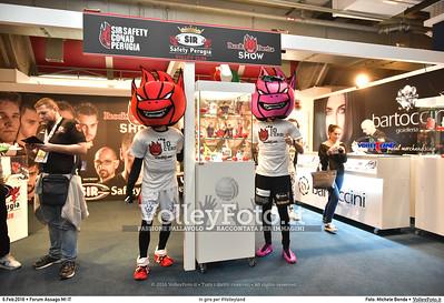 In giro per #Volleyland Mediolanum Forum Milano, 06.02.2016 FOTO: Michele Benda © 2016 Volleyfoto.it, all rights reserved [id:20160206.MB2_7230]