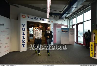 In giro per #Volleyland Mediolanum Forum Milano, 06.02.2016 FOTO: Michele Benda © 2016 Volleyfoto.it, all rights reserved [id:20160206.MB2_7217]