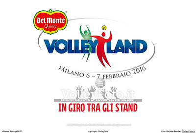 In giro per #Volleyland Mediolanum Forum Milano, 06.02.2016 FOTO: Michele Benda © Volleyfoto.it, all rights reserved [id:.cover-Stand]