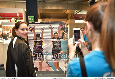 In giro per #Volleyland Mediolanum Forum Milano, 06.02.2016 FOTO: Michele Benda © 2016 Volleyfoto.it, all rights reserved [id:20160206.MB2_7259]
